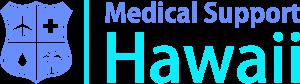 メディカルサポートハワイの英語版ロゴ2